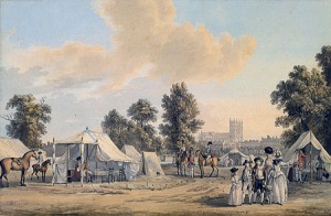 Encampment in St. James's Park 1780